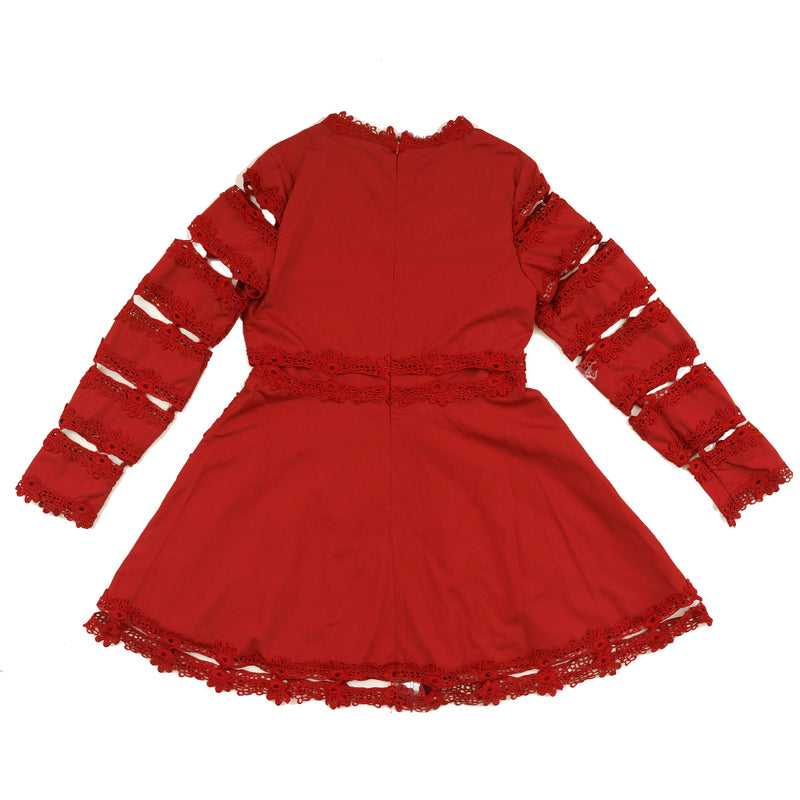 The Lovely Dress (Burgundy)