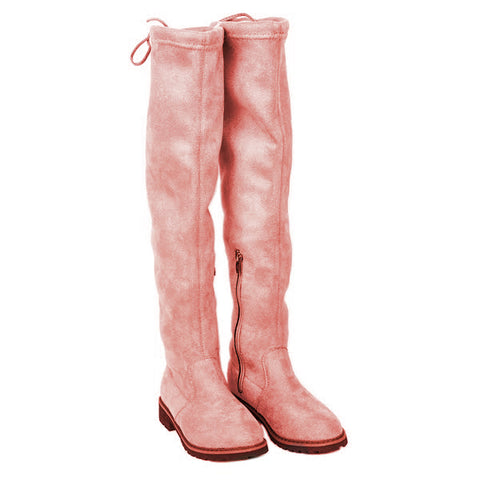 Feodora Boots (Pink) PRE ORDER