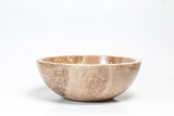 Natural Stone Vessel Bathroom Sink - Bonsai Tobacco Travertine