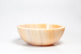 Natural Stone Vessel Bathroom Sink - Bonsai Honey Onyx