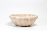 Natural Stone Vessel Bathroom Sink - Ring Travertine