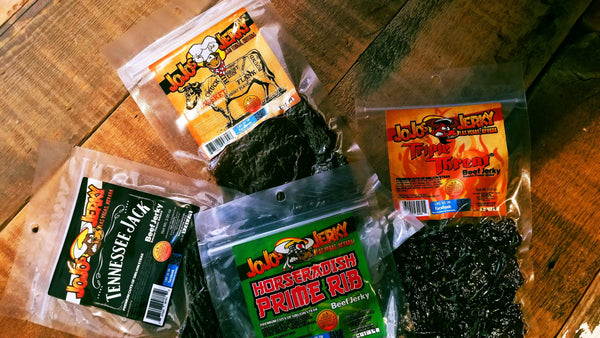 4 Bags of Jerky of Your Choice (Subscription Only) - Free Shipping