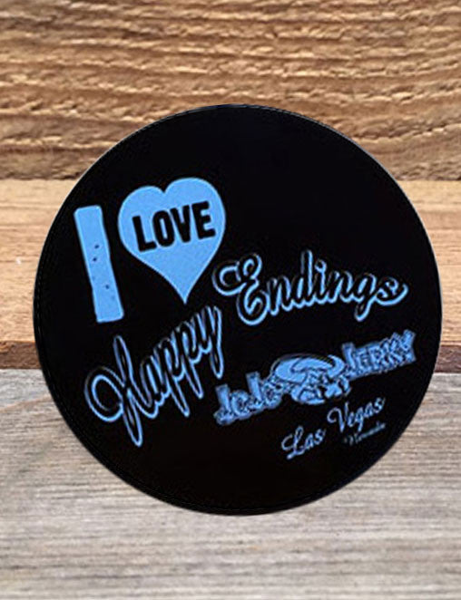 I Love Happy Endings! Sticker