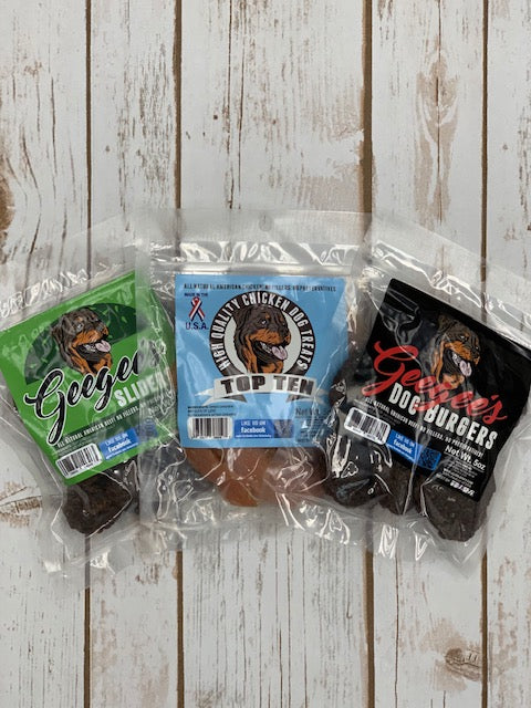 3 bags of jerky of your choice 12 Month (pre-paid Subscription),  get 1 month FREE