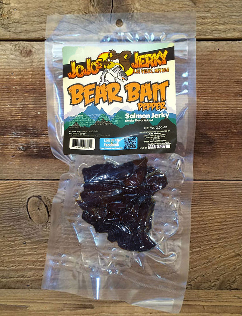 Bear Bait - Pepper Salmon Jerky