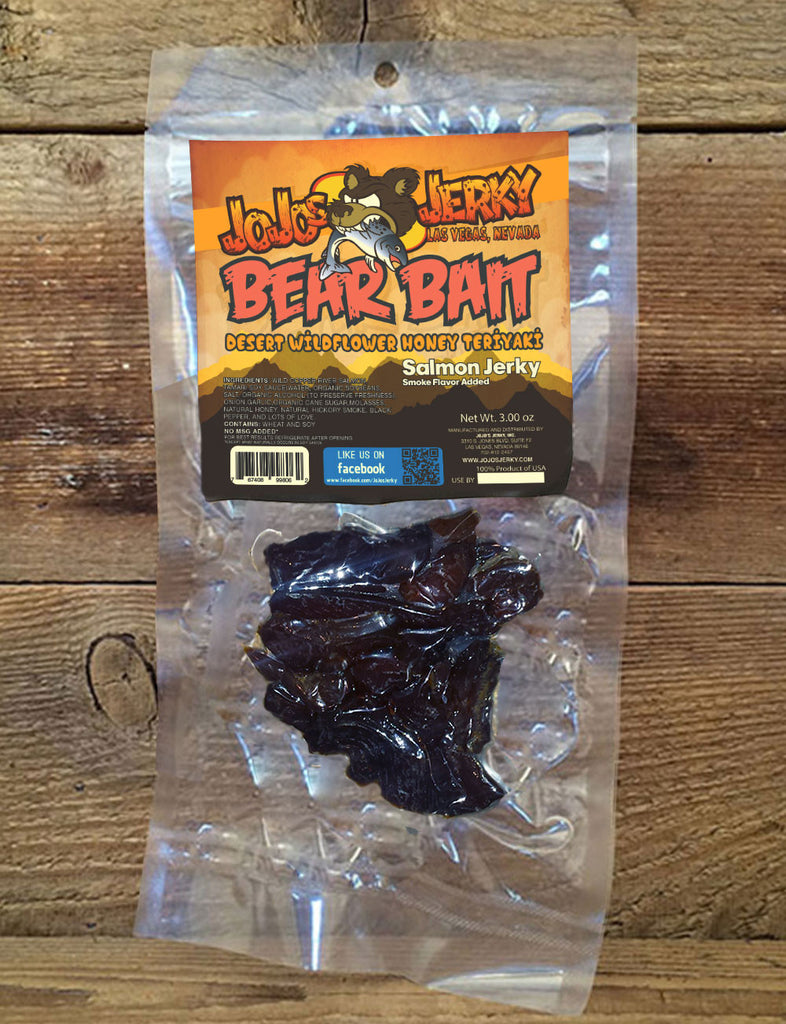 Bear Bait- Honey Teriyaki Salmon  Jerky