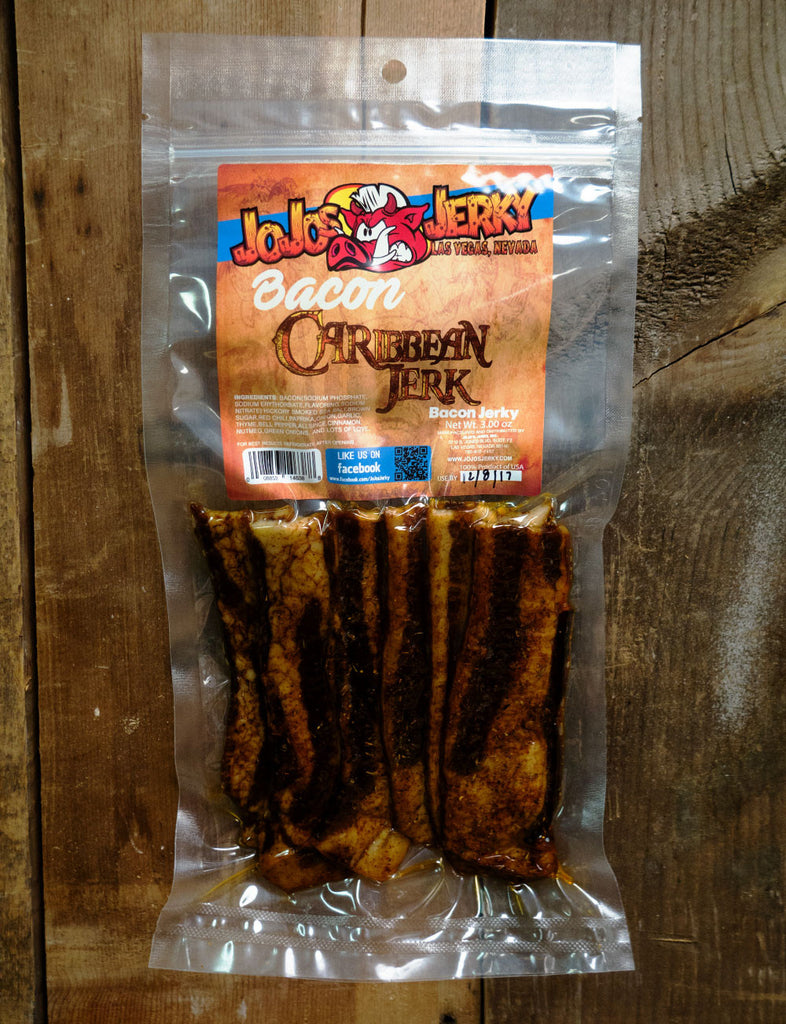 Caribbean Jerk Bacon Jerky