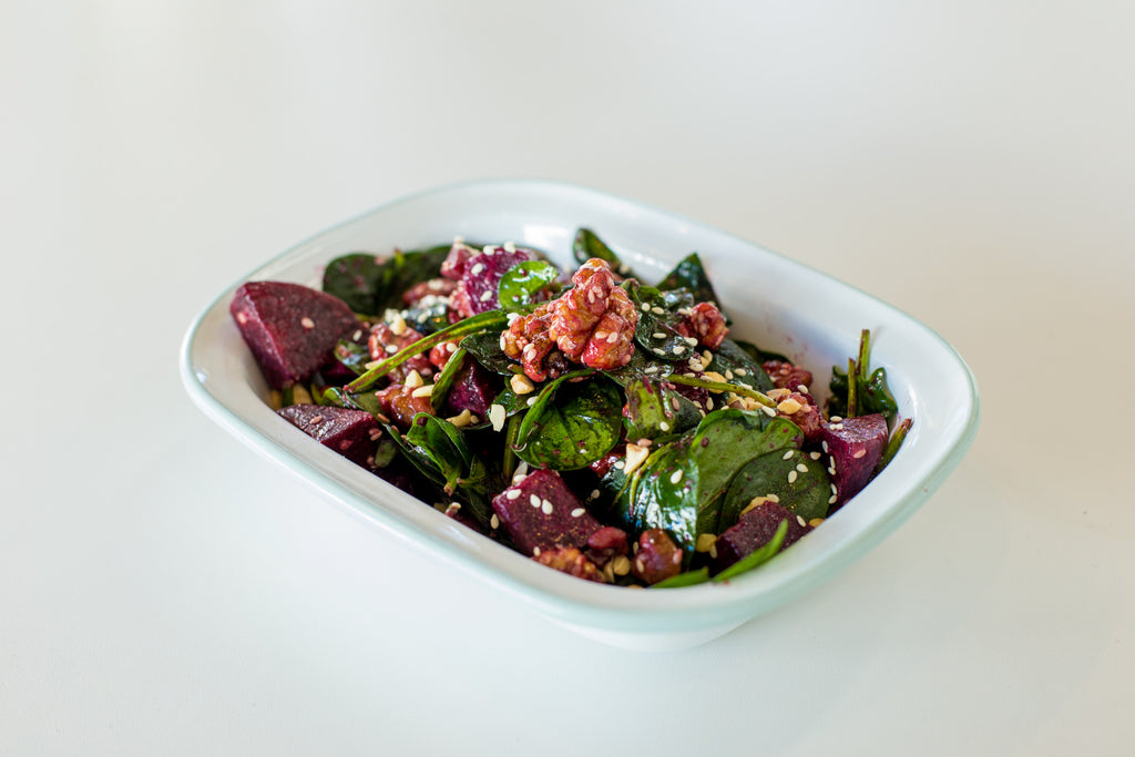 Beetroot & Caramelised Walnut Salad