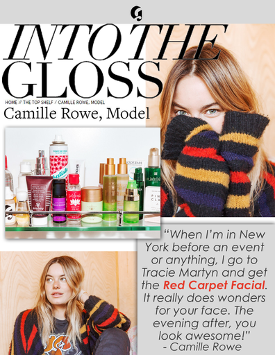 INTO THE GLOSS CAMILLE ROWE