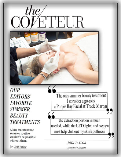 Coveteur: Our Editor's Favorite Summer Beauty Treatments