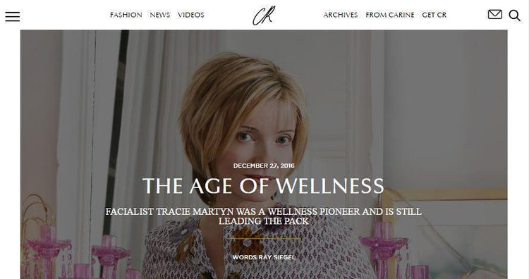 CR FASHION BOOK: THE AGE OF WELLNESS