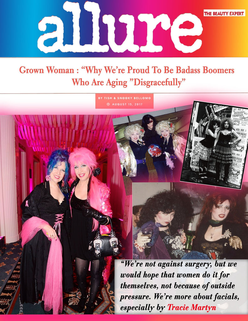 Allure: Manic Panic CEO's on Tracie Martyn Facials