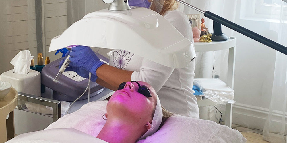 Facial Deepdive: The Purple Ray Facial For Acne and Youthful Eyes