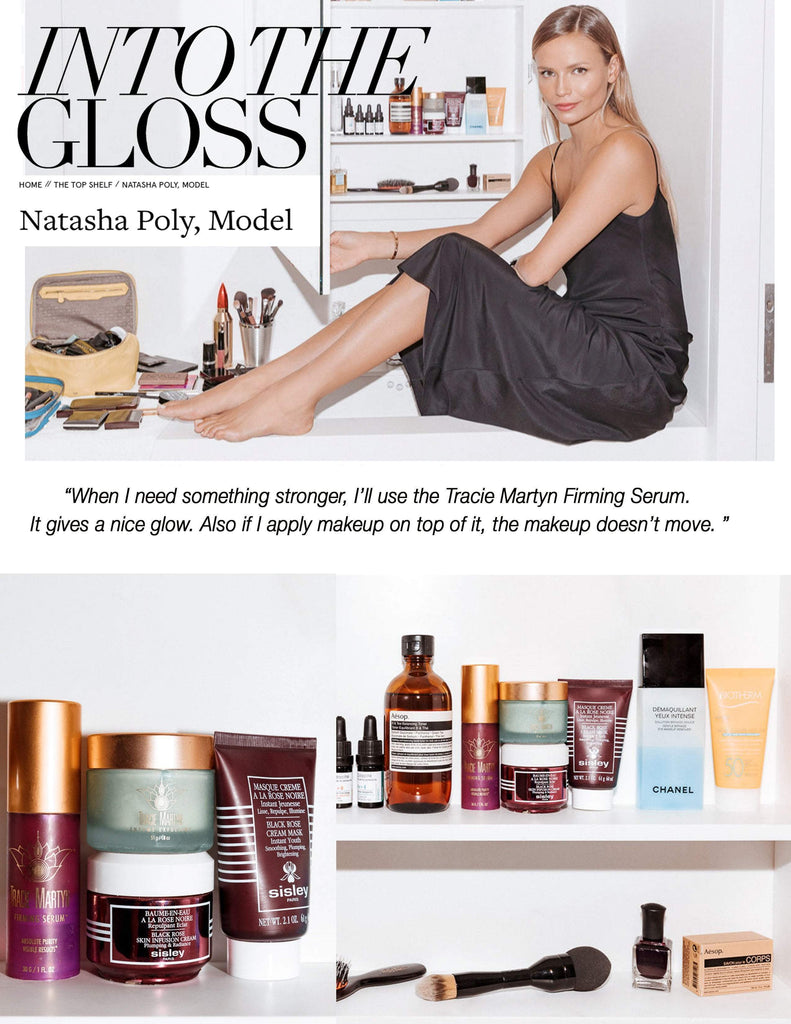 Natasha Poly on IntoTheGloss