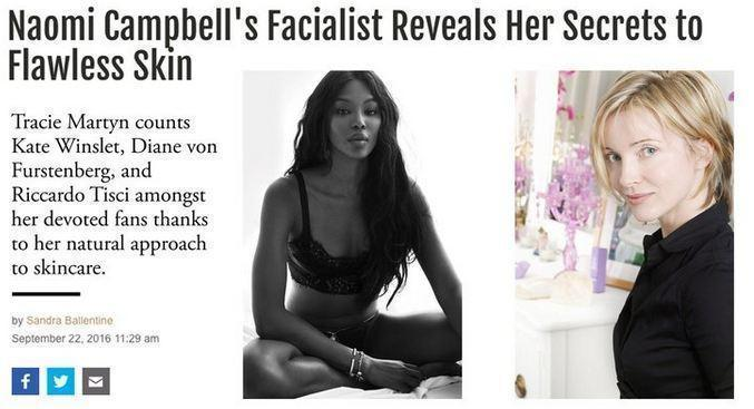 W Magazine: Naomi Campbell's Facialist Reveals Her Secrets to Flawless Skin