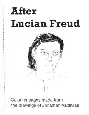 Coloring Pages: After Lucian Freud