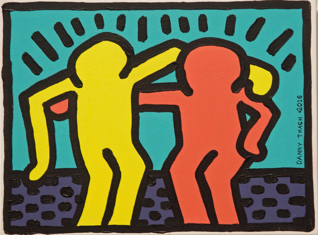 After Keith Haring (P0850)