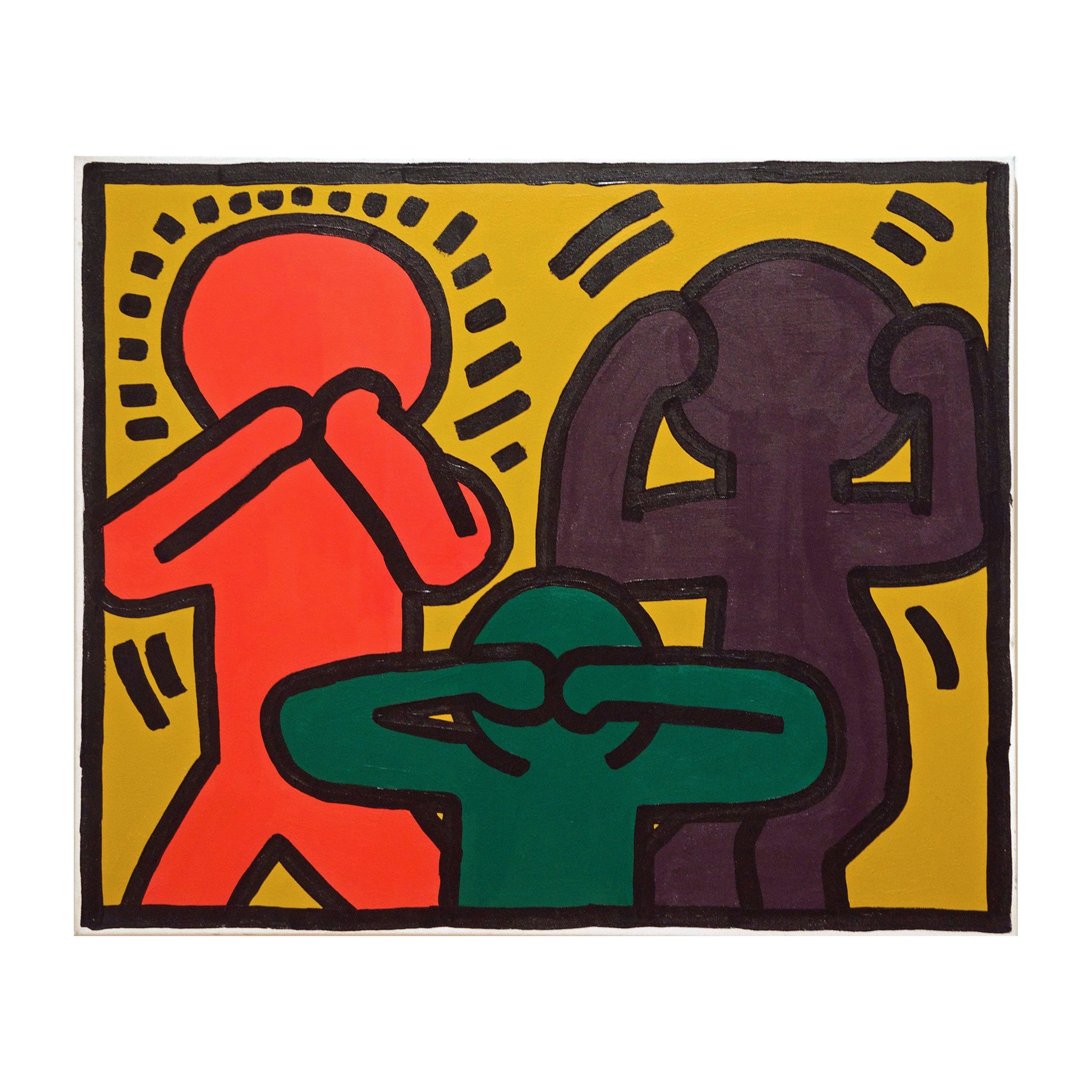 After Keith Haring (P0857)