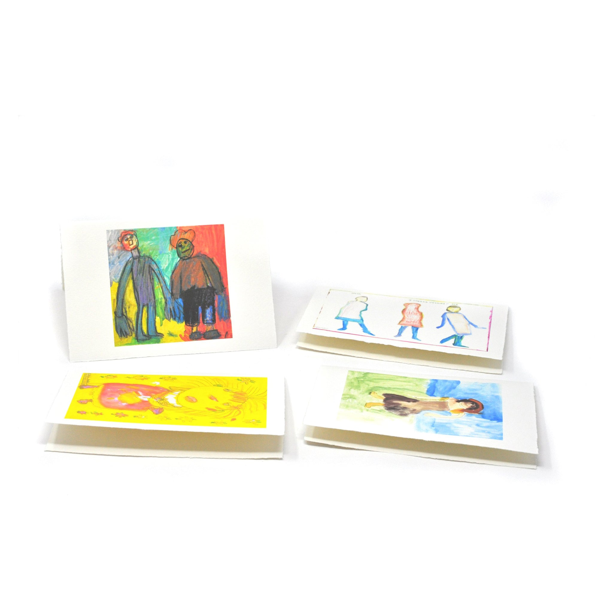 Greeting Cards: People Four-Pack