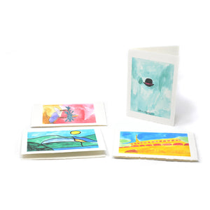 Greeting Cards: Cool Four-Pack