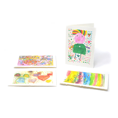 Greeting Cards: Romantic Four-Pack