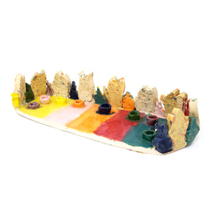 Cat Menorah (S0840)