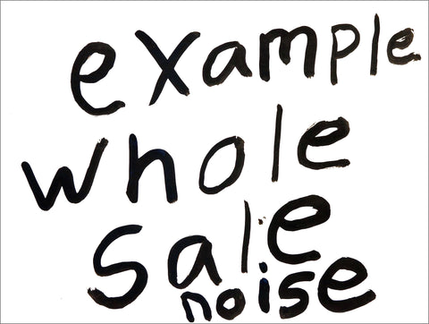 Example Whole Sale Noise (D6574)