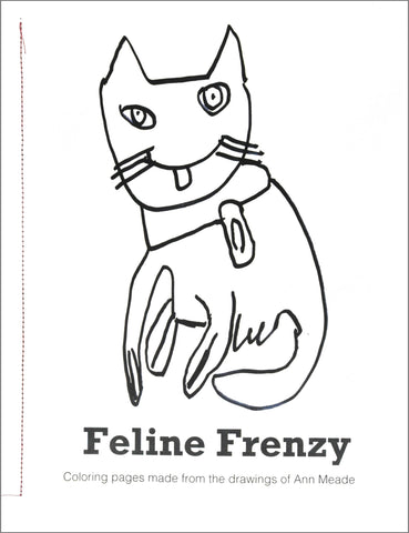 Coloring Pages: Feline Frenzy