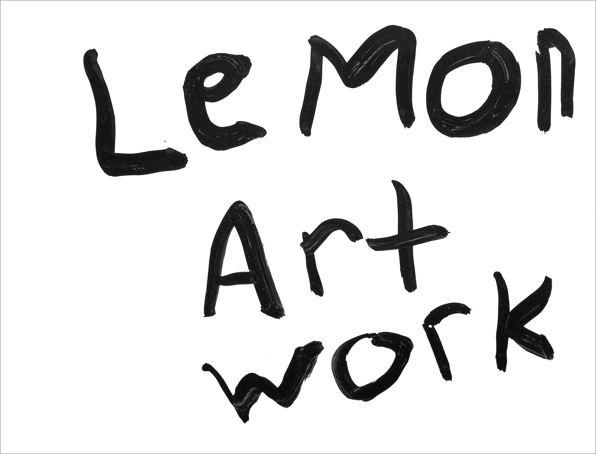 Lemon Art Work (D6576)