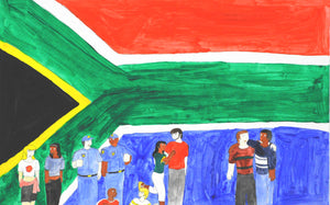 Mandela's Dream Of A Rainbow Nation (D4607)