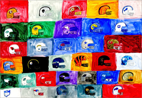 NFL Football Teams (D1042)