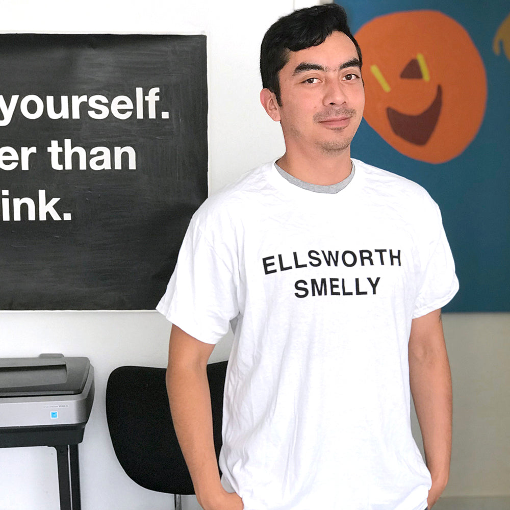 Freudian Slip T-shirt: Ellsworth Smelly
