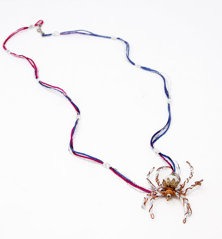 Spider Necklace (J0063)