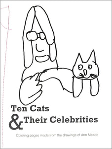 Coloring Pages: Ten Cats & Their Celebrites