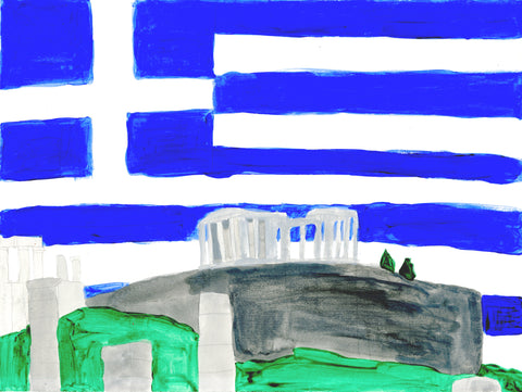 The Nation Of Greece (D4928)