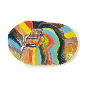 King Tut Portrait Platter (S2326)