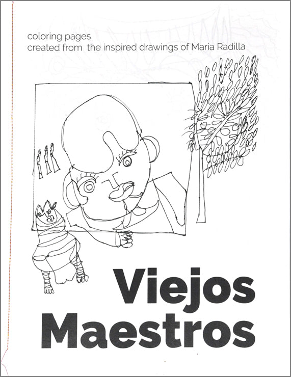 Coloring Pages: Viejos Maestros