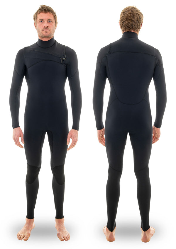 needesssntials 2/2 Chest Zip summer winter Wetsuit Laurie Towner