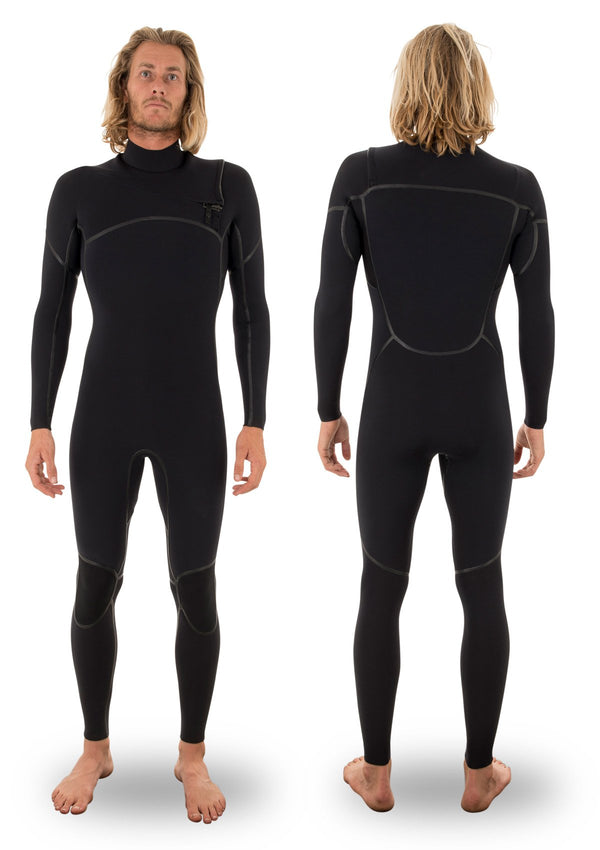 needessentials 4/3 liquid taped thermal wetsuit torren martyn surfing winter black non branded