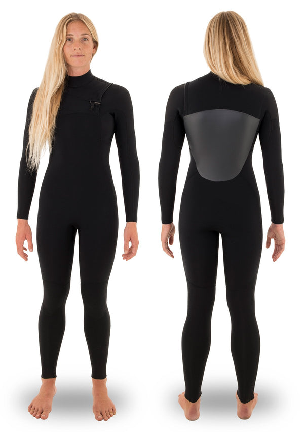 Womens 4/3 Thermal Chest Zip Wetsuit