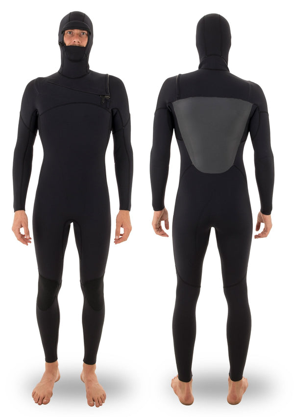5/4 Thermal Hooded Chest Zip Wetsuit