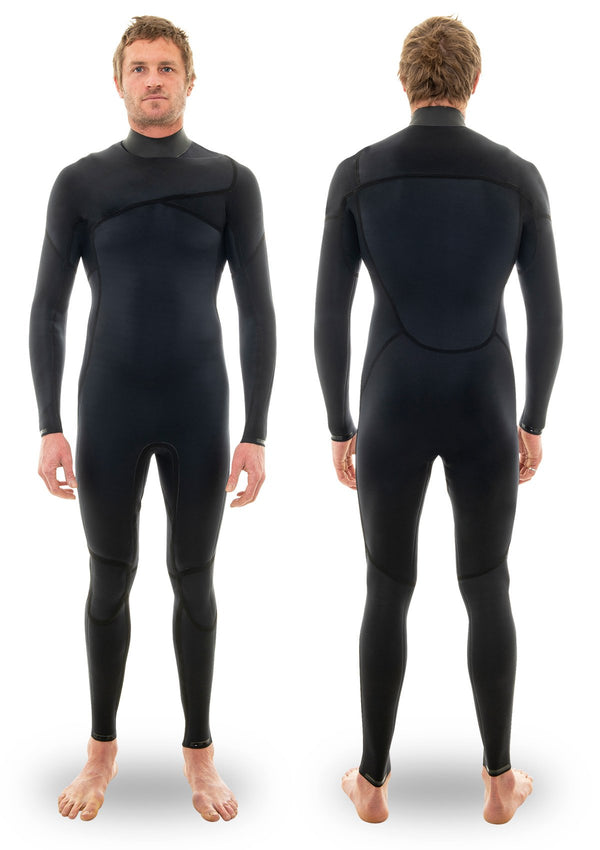 needesssntials 2mm Chest Zip wetsuit summer winter Laurie Towner