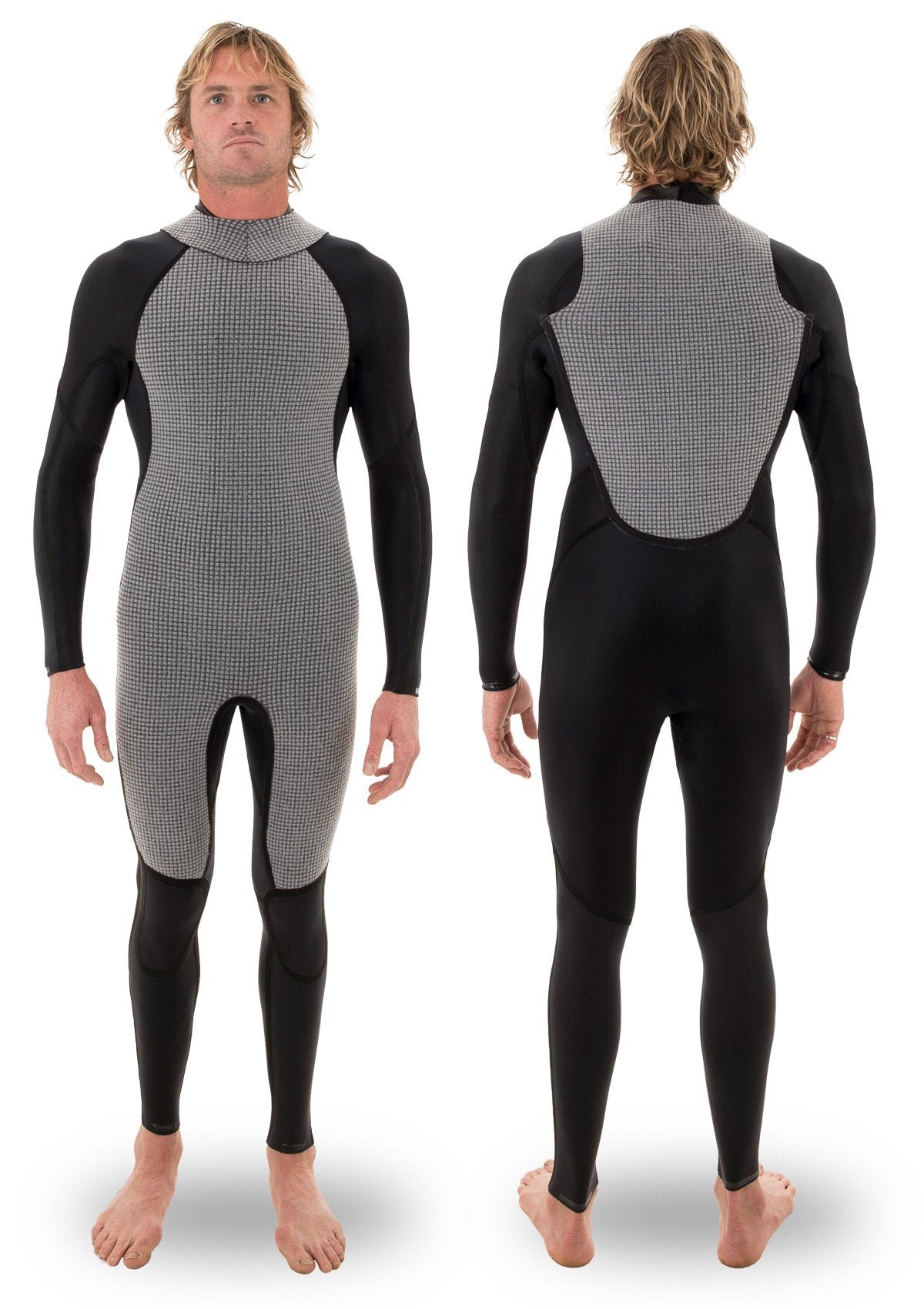 needessentials 4/3 back zip thermal wetsuit laurie towner surfing winter non branded big waves
