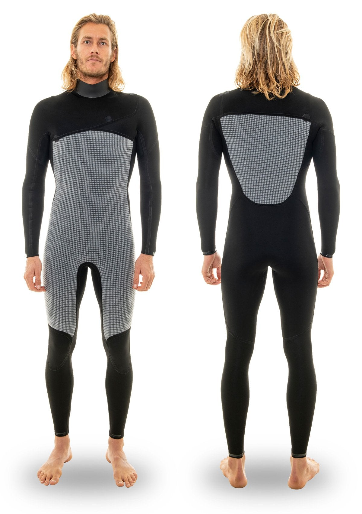 5/4 Thermal Chest Zip Wetsuit