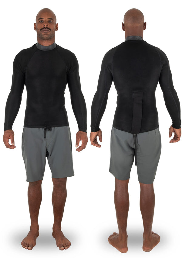 needessentials Back Zip Jacket summer wetsuit