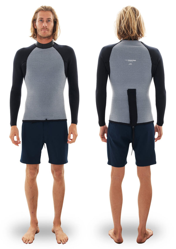 needessentials Back Zip Thermal Jacket summer wetsuit vest torren martyn