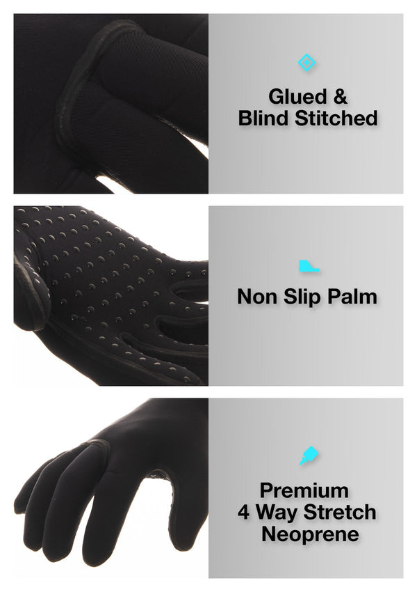 needessentials surfing 3mm gloves