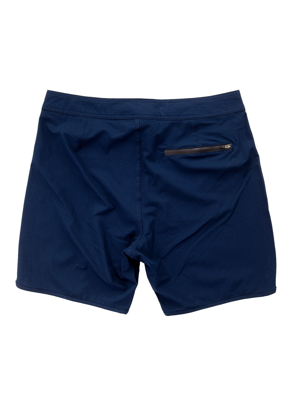 Navy-Scallop Boardshort