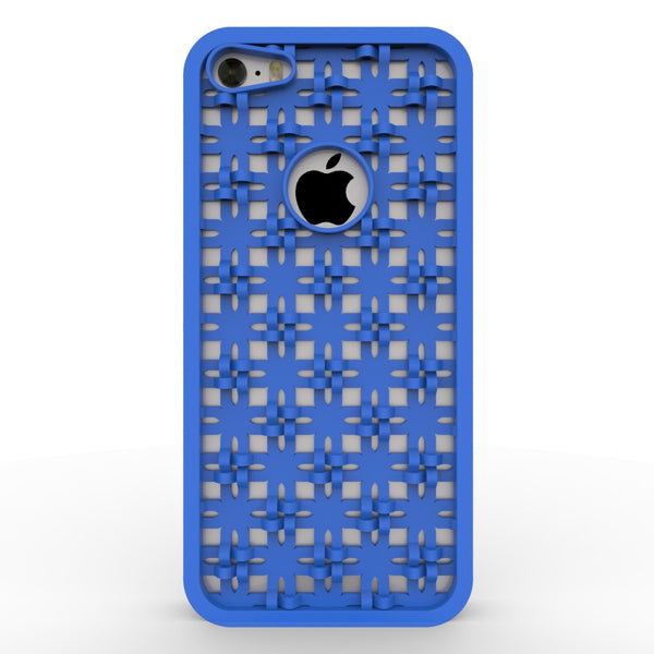 Cross-weave iPhone case