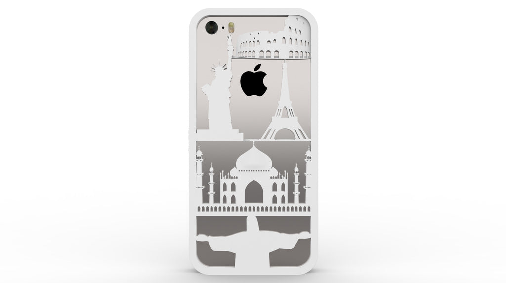All Over the World iPhone case